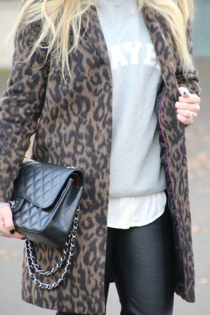 Boden Leopardenmantel Cosy Sweater Und Chanel