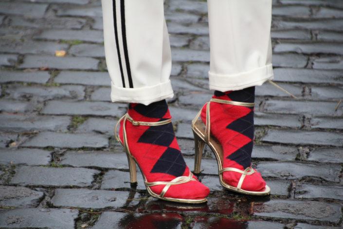 Socken in Sandals